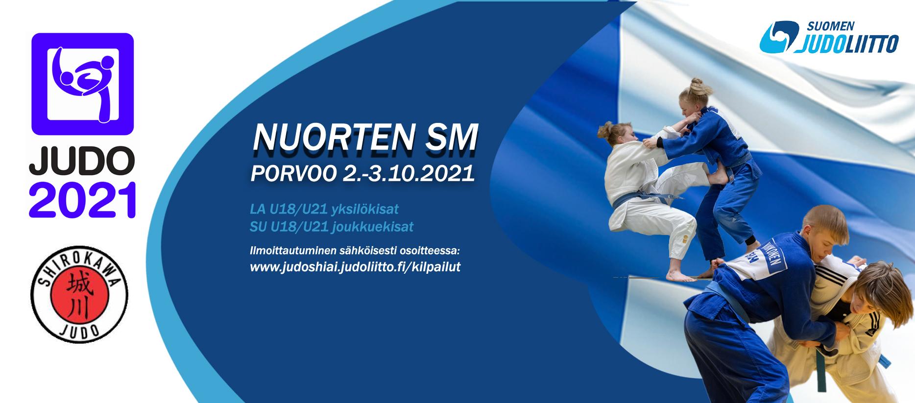 Judon Nuorten SM-kilpailut 2021