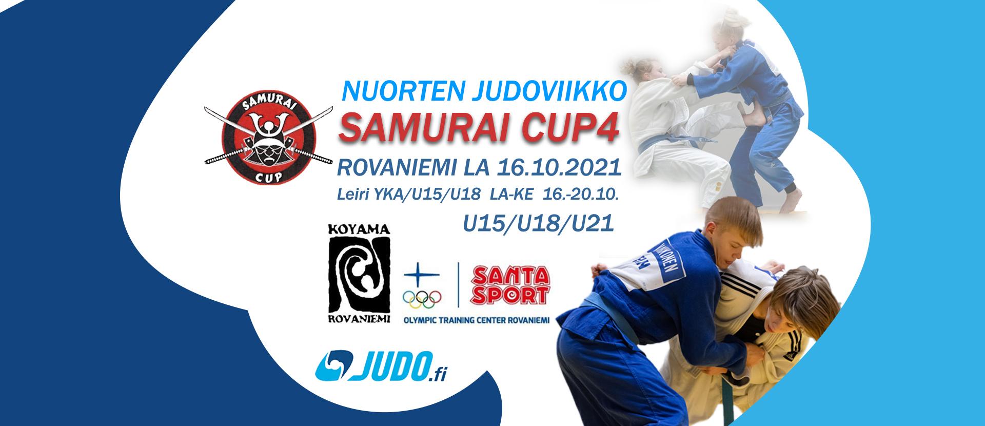 Samurai cup 4 ja nuorten judoviikko