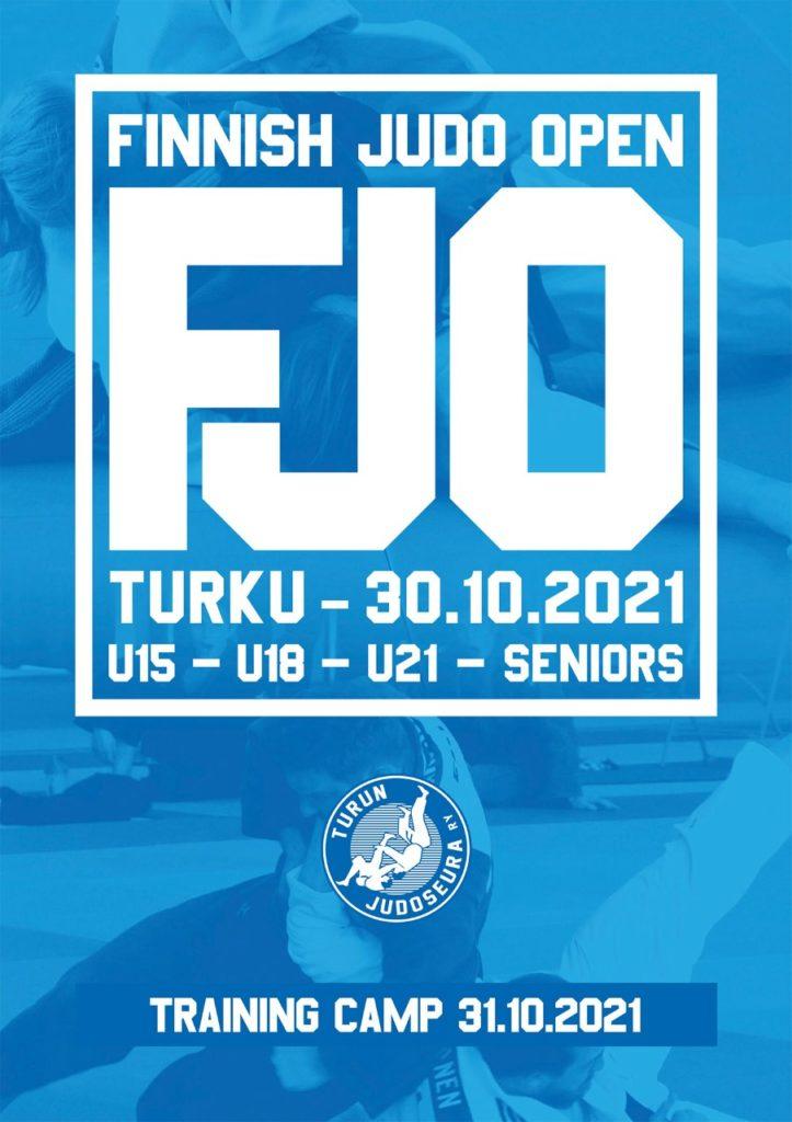 Finnish Judo Open Turku 2021